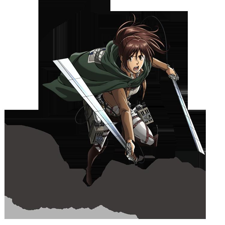 進撃の巨人サシャ・ブラウスモデル