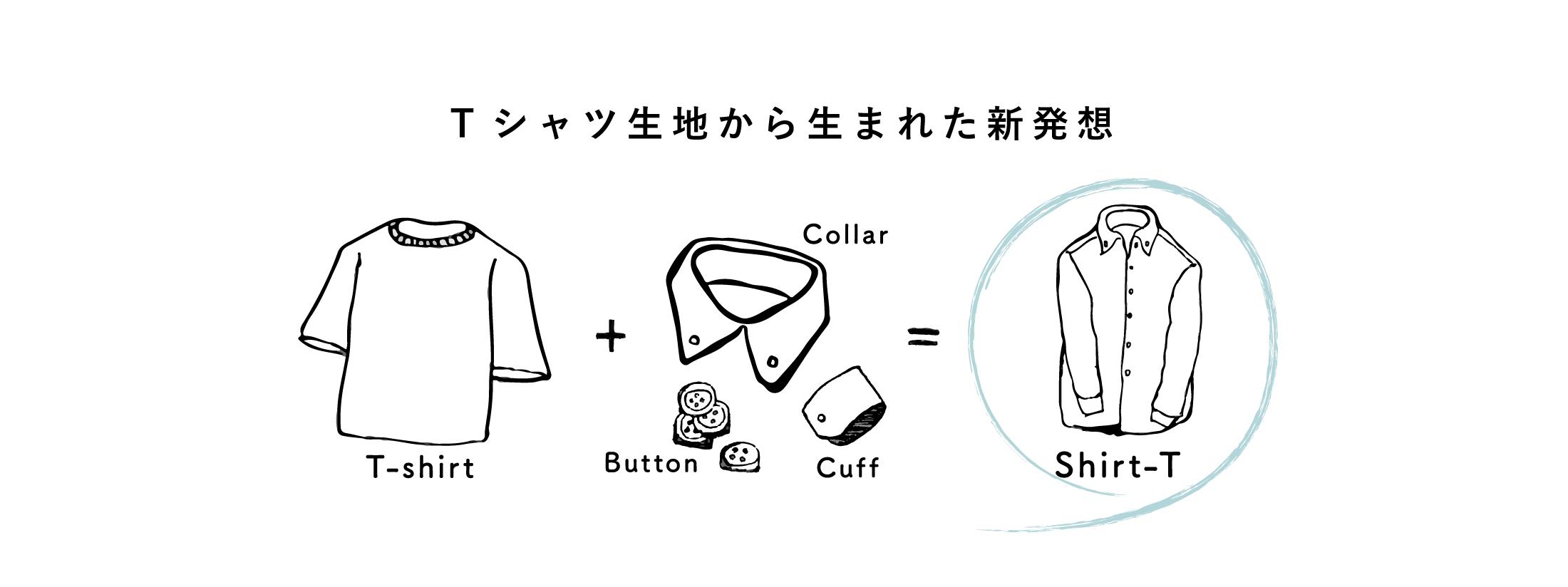 Tシャツ生地から生まれた新発想